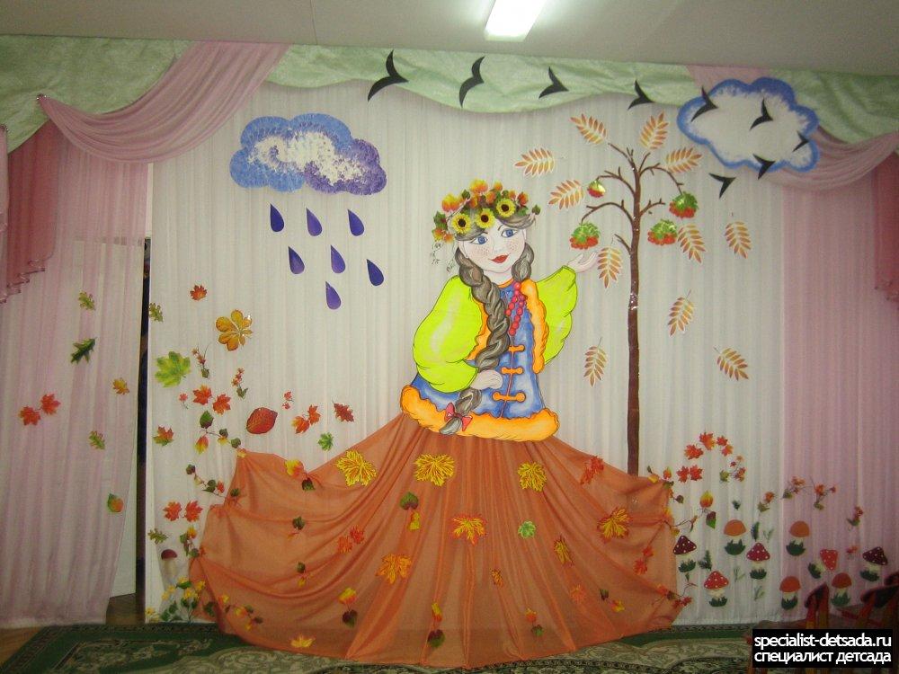 Украшение зала детского сада на выпускной фото